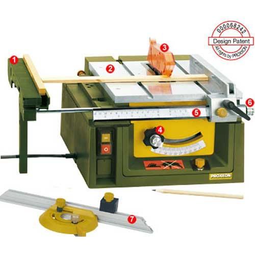 Modellbau-Tischkreissäge Proxxon FET