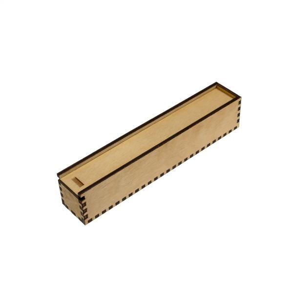 Holz-Etui für 1 Stift, 20 x 20 mm