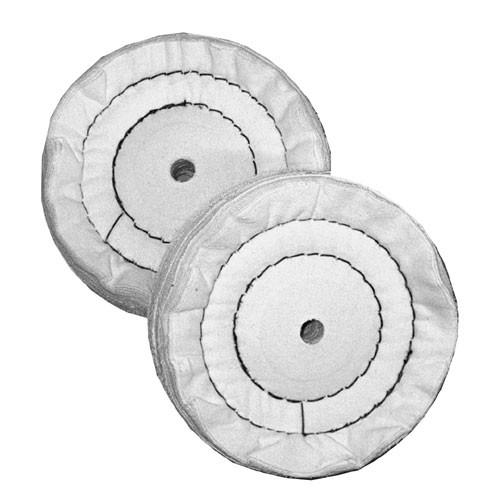 Schwabbelscheibe 150 mm, Flanell, gebohrt