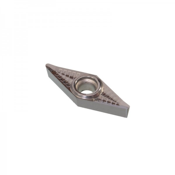 Hartmetall-Wendeplatte mit Schneidenradius 0,8 mm