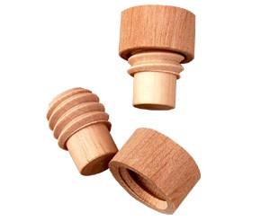 Holzgewinde für Muskatnuss-Mahlwerk