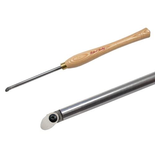 Ausdrehwerkzeug mit geradem Schaft und 2 Klingen