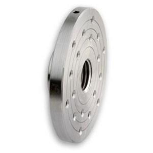 Planscheibe, Stahl mit zwei Teilkreisen Ø 150 mm