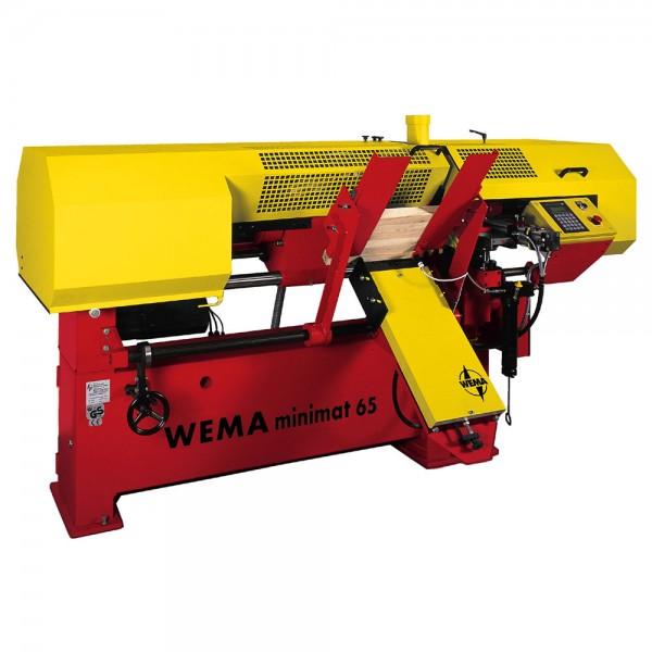 WEMA minimat 65, Holz-Drehvollautomat für Serienproduktion