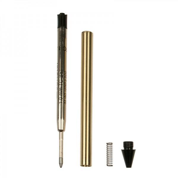 Kugelschreiber-Bausatz mit fester Großraum-Mine