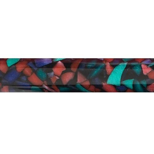 Acryl-Rohling zur Stiftherstellung Design Crushed Ice