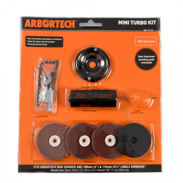 Arbortech Mini-TURBO Kit (M5-Version)