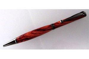 Dreh-Kugelschreiber-Bausatz mit Kugelclip, brüniert