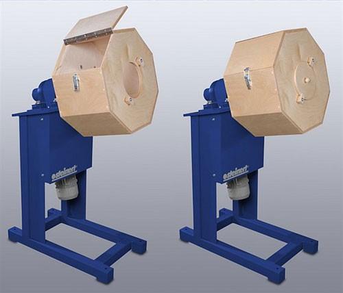 Schleif- und Poliertrommelmaschine