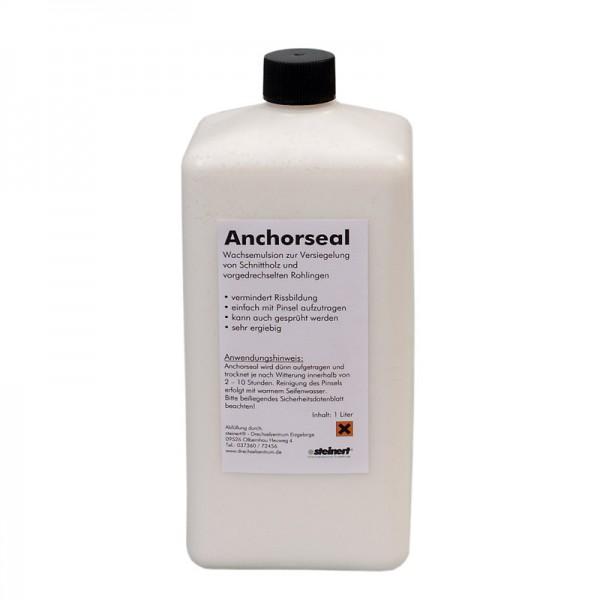 Anchorseal Wachsemulsion zur Versiegelung von Schnittholz und vorgedrechselten Rohlingen