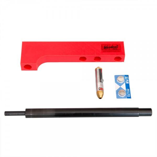 Laser Guide für Schalenstecher WOODCUT Bowlsaver MAX3