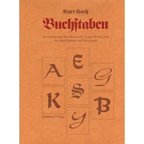 """Buch """"Buchstaben und Schriften"""""""