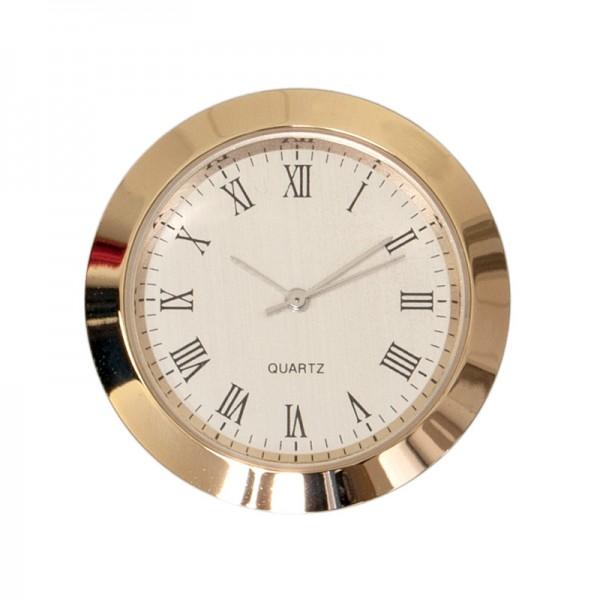 Bausatz Uhr, gold/silber, Ø 36 mm