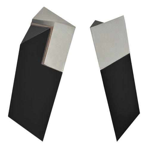 Spezialdrehstahl V-Form Super/Stellite