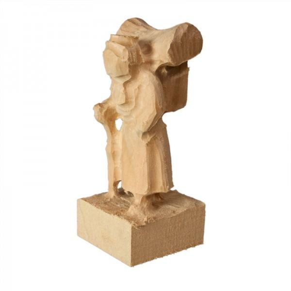 vorgefräster Schnitzrohling aus Linde, Holzfrau