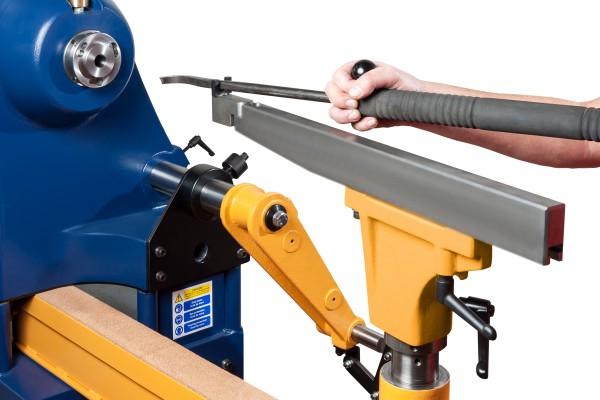 extralange Werkzeugauflage für tiefe Gefäße