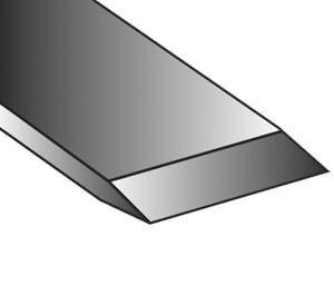 Drechsel-Meißel gerade, geschmiedet, Neuhammer