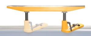 Werkzeugauflage / Handauflage