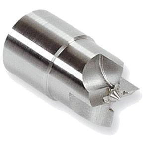 Vierzack-Stirnmitnehmer mit 27mm zyl. Schaft