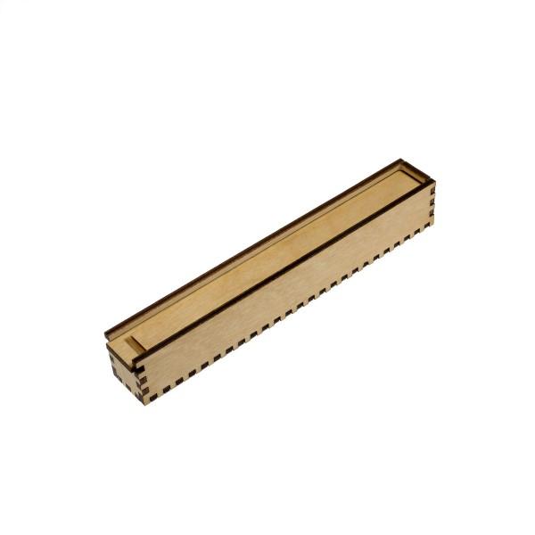 Holz-Etui für 1 Stift, 15 x 15 mm