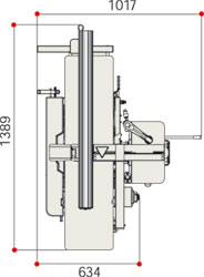 Abricht-Dickenhobel-Maschine FS30 genius Tersa