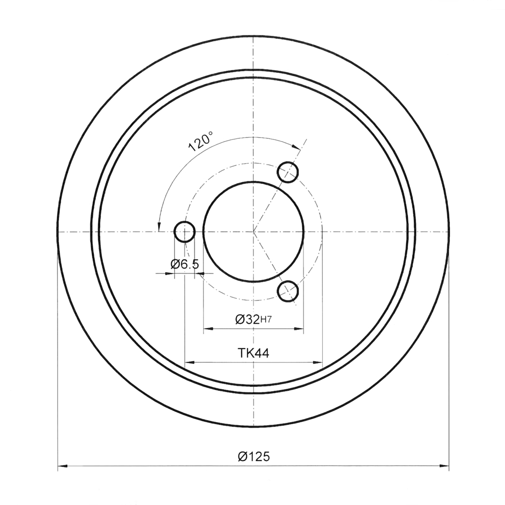 CBN profile wheel for V-steels